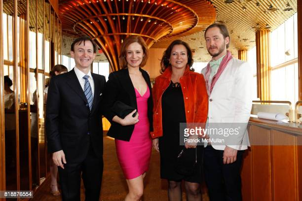 Nicoletta Giordani Bruce Levingston Barbara HemmerleGollust and Paul Marlow attend Bruce Levingston on Top of The Standard A Premiere Commission Gala...