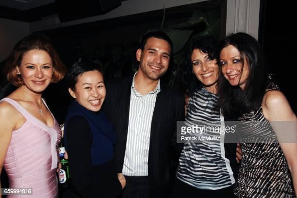 Nicoletta Giordani Niki Cheng Louis Sarmiento Lisa Edelstein and Beth Melillo attend LOUIS SARMIENTO and JASON KIM 30th Birthday Dinner and Party...