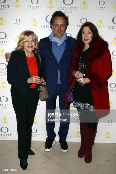 Nicoletta JeanChristophe Molinier and guest attend 'Dessiner L'Or et L'Argent Odiot Orfevre' Exhibition Launch at Musee Des Arts Decoratifs on March...