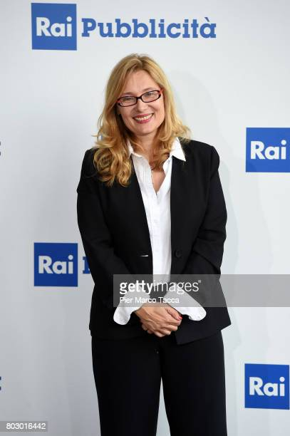 Nicoletta Mantovani attends the Rai show schedule presentation at Statale University of Milan on June 28 2017 in Milan Italy