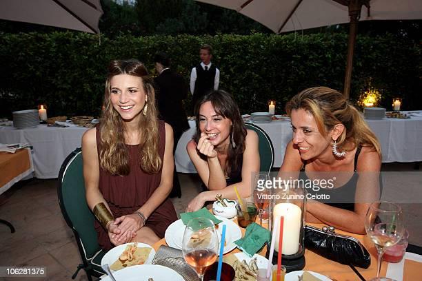 Nicoletta Romanoff and guests attend chapter 2 of Il Pellicano 'Globetrotters Reunion' held at Il Pellicano Hotel on June 12 2010 in Porto Ercole...