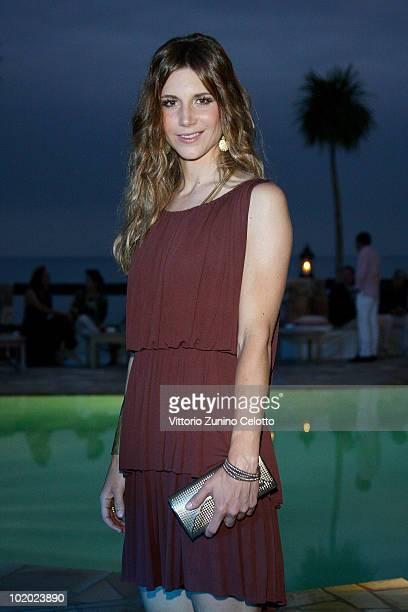 Nicoletta Romanoff attends chapter 2 of Il Pellicano 'Globetrotters Reunion' held at Il Pellicano Hotel on June 12 2010 in Porto Ercole Italy