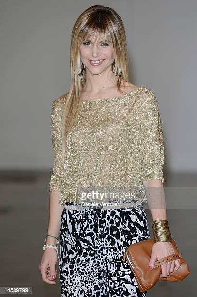 Nicoletta Romanoff attends the 2012 Convivio charity gala event on June 7 2012 in Milan Italy