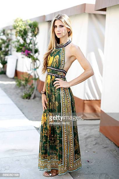 Nicoletta Romanoff attends the photocall of 'Le Verita' during the 73rd Venice Film Festival at on September 4 2016 in Venice Italy