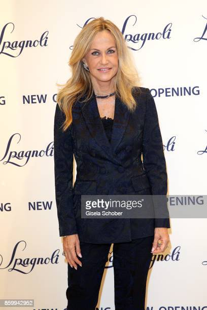 Nicoletta Spagnoli during the Luisa Spagnoli boutique opening Munich at Preysing Palais on October 10 2017 in Munich Germany