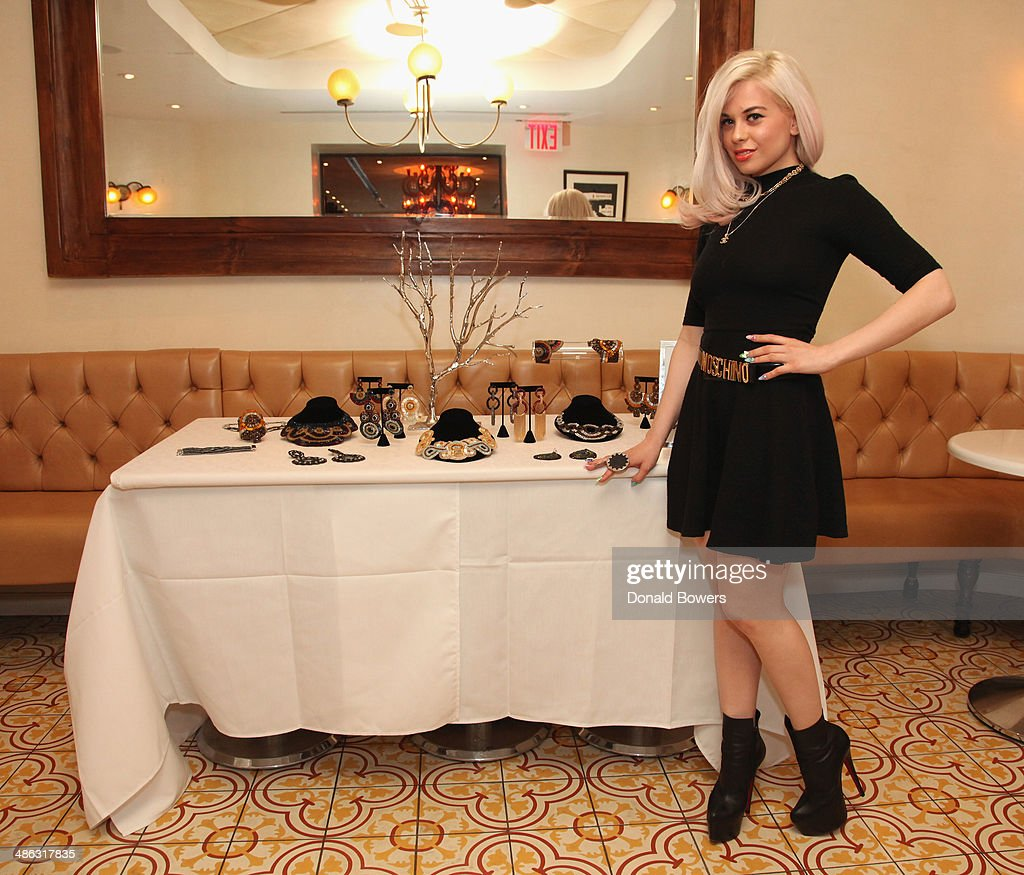 Nicolette attends Fernanda Capobianco and Amanda Hearst's reception to unveil cruelty-free accessory line, The New Yorker Collection at FP Patisserie on April 23, 2014 in New York City.