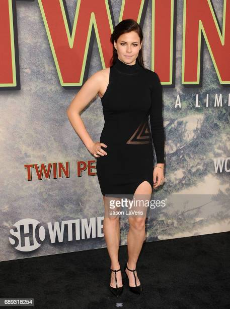 Nicolette Noble attends the premiere of 'Twin Peaks' at Ace Hotel on May 19 2017 in Los Angeles California