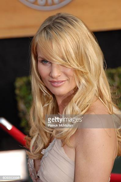 Nicollette Sheridan attends 13th Annual Screen Actors Guild Awards Red Carpet at Shrine Auditorium on January 28 2007 in Los Angeles CA