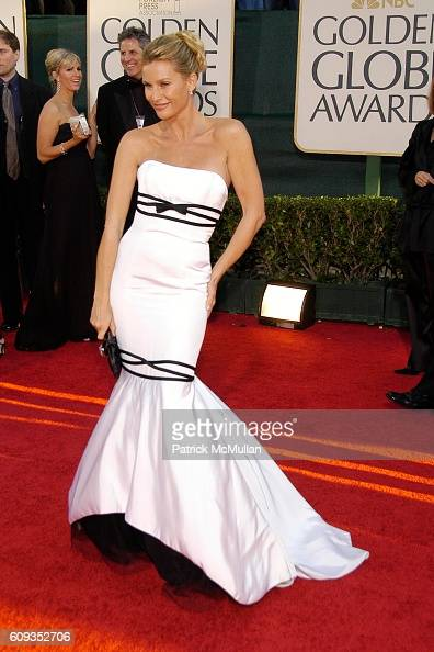 Nicollette Sheridan attends 64th Annual Golden Globes Awards Arrivals at Beverly Hilton Hotel on January 15 2007 in Beverly Hills CA