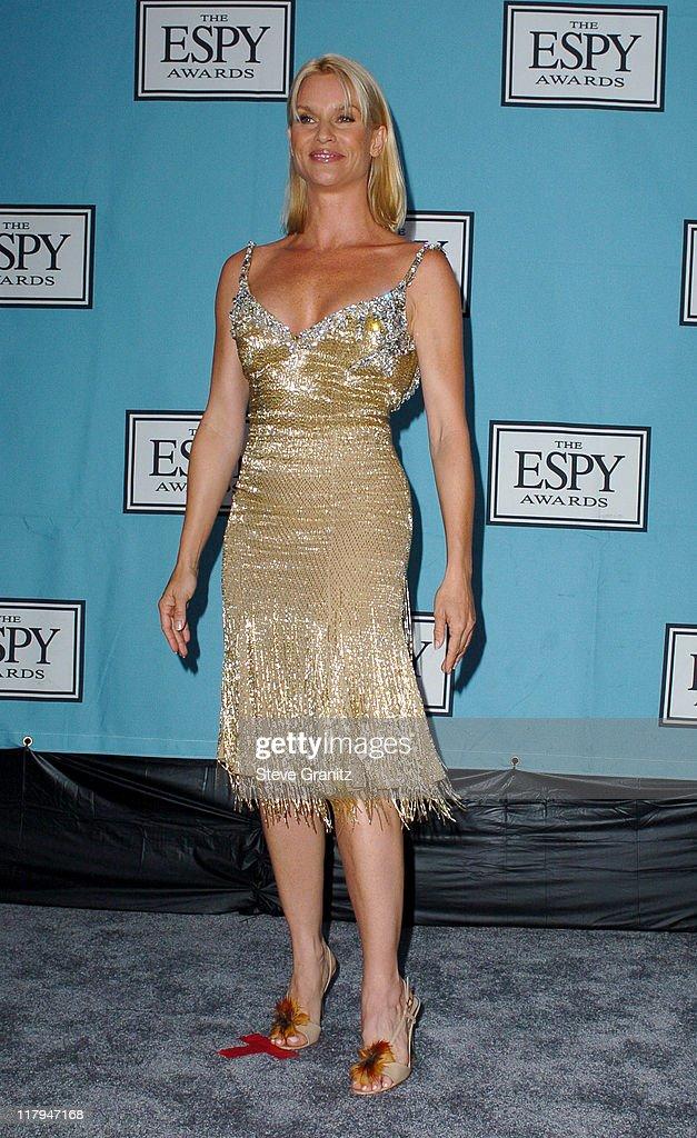 Nicollette Sheridan during 2005 ESPY Awards Press Room at Kodak Theatre in Hollywood California United States