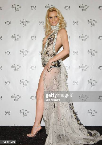 Nicollette Sheridan during 32nd Annual American Music Awards Press Room at Shrine Auditorium in Los Angeles California United States