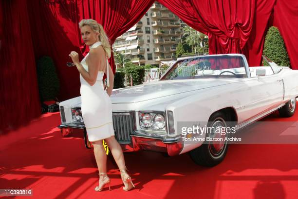 Nicollette Sheridan during 45th Monte Carlo Television Festival Nicollette Sheridan of 'Desperate Housewives' Photocall at Grimaldi Forum in Monte...