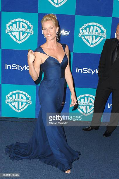 Nicollette Sheridan during InStyle Warner Bros 2006 Golden Globes After Party Arrivals at Beverly Hilton in Beverly Hills California United States