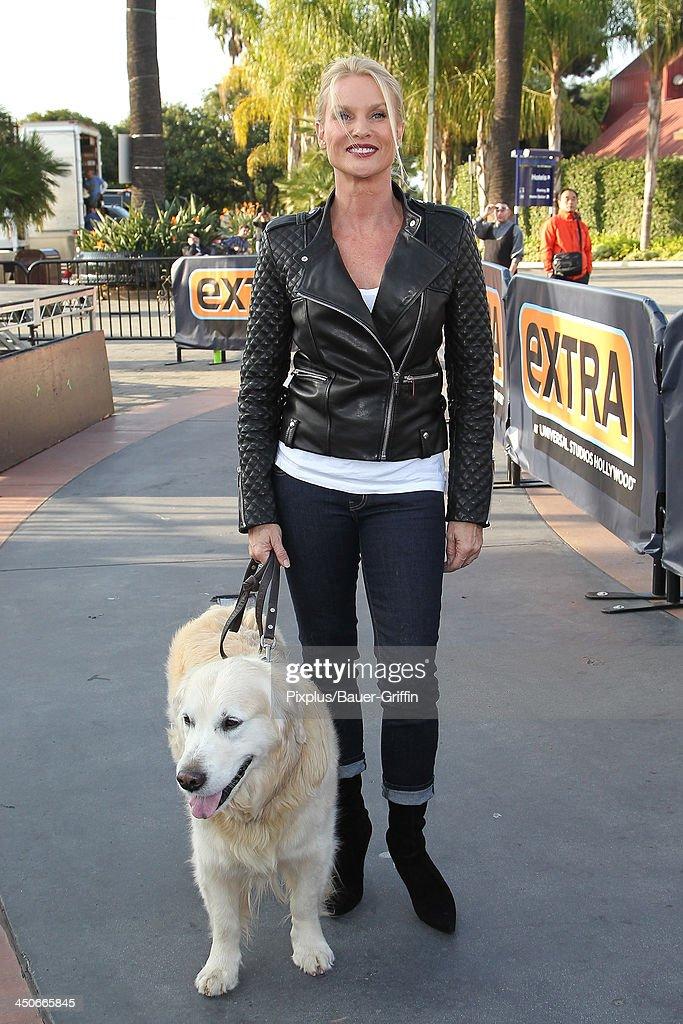 Nicollette Sheridan is seen on November 19 2013 in Los Angeles California