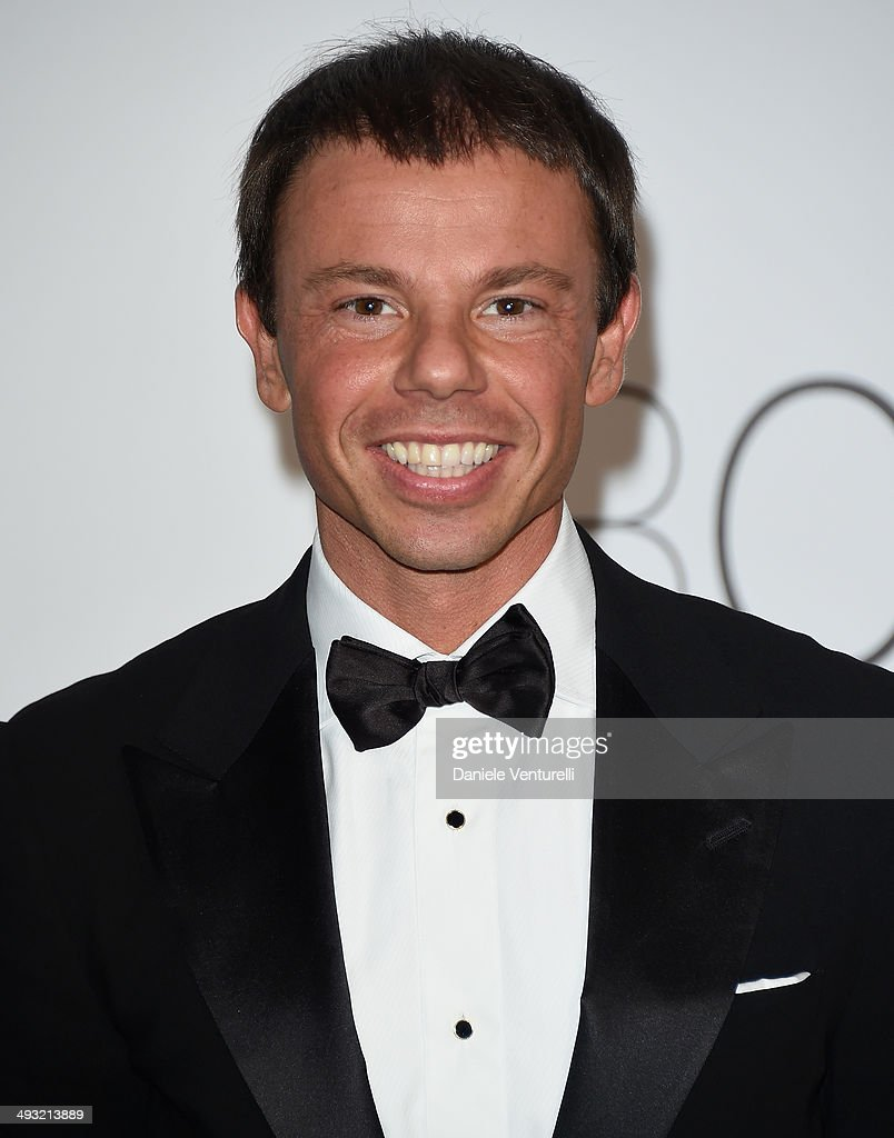 Nicolo Cardi attends amfAR's 21st Cinema Against AIDS Gala Presented By WORLDVIEW BOLD FILMS And BVLGARI at Hotel du CapEdenRoc on May 22 2014 in Cap...