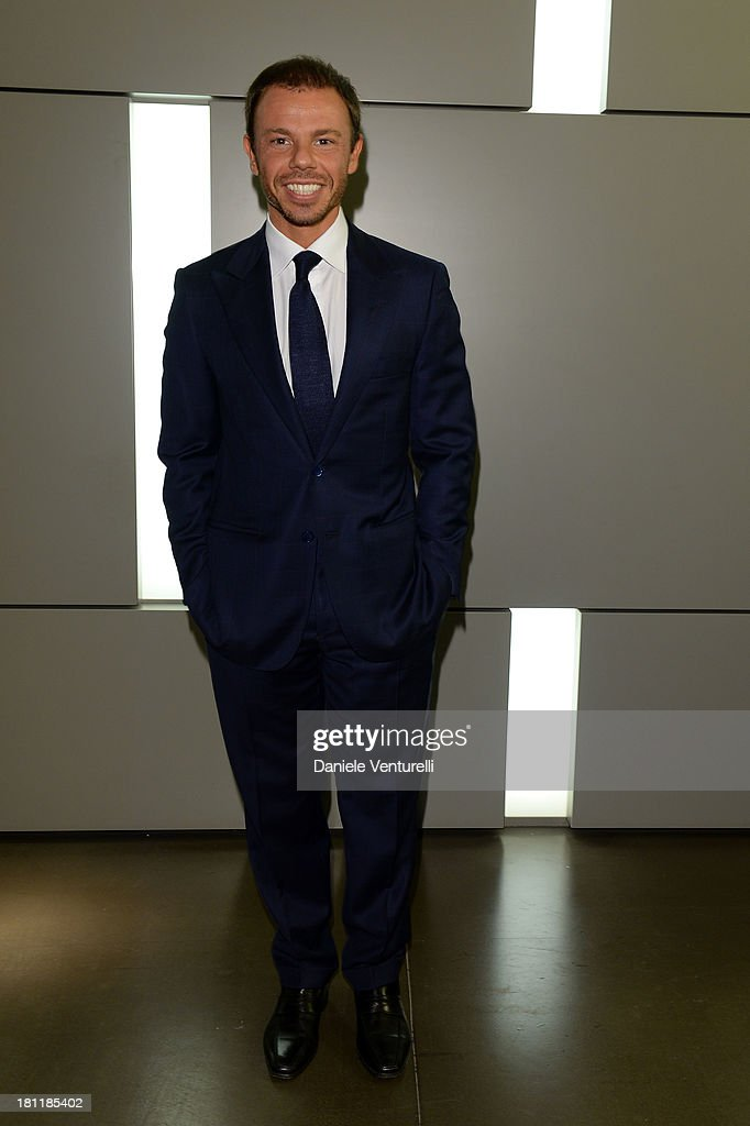 Nicolo Cardi attends DSquared2 Cocktail during the Milan Fashion Week Womenswear Spring/Summer 2014 on September 19 2013 in Milan Italy