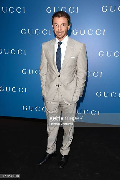 Nicolo Cardi attends Gucci Men's Flagship Store Opening and Launch of Gucci Made to Measure Capsule Collection 'Lapo's Wardrobe' on June 23 2013 in...