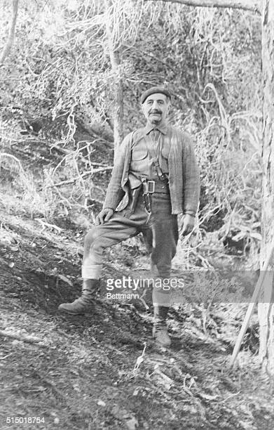 Terrorist Leader On Cyprus Barely Missed Capture This seized photograph of 'General' Georges Grivas taken from a rebel captured by British forces...