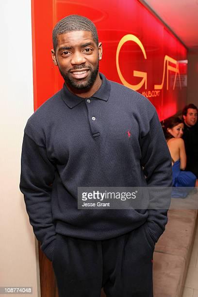 Nicoye Banks during Eli Mizrahi Birthday Bash at GSpa Hotel Gansevoort in New York City New York United States