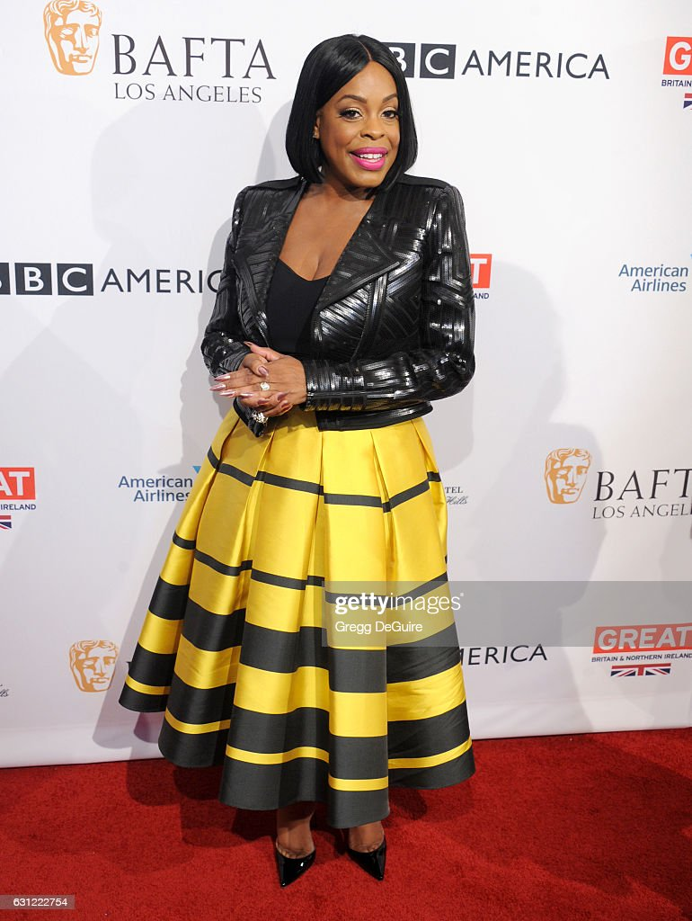 Niecy Nash arrives at The BAFTA Tea Party at Four Seasons Hotel Los Angeles at Beverly Hills on January 7, 2017 in Los Angeles, California.