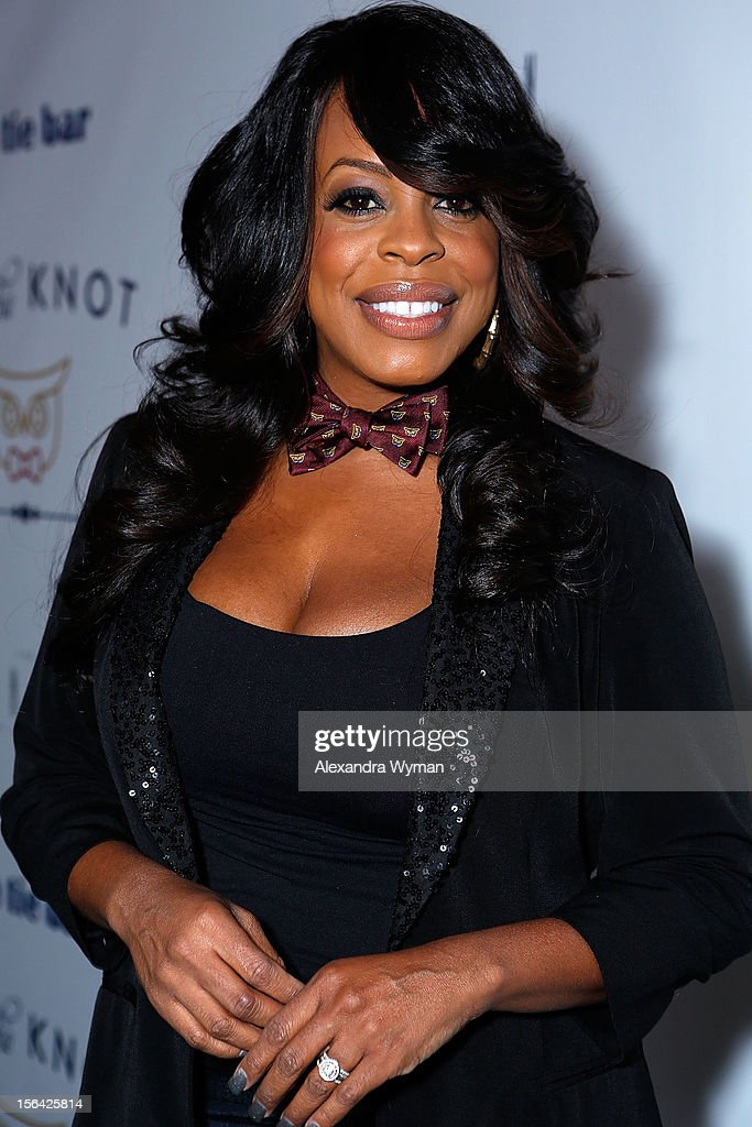 Niecy Nash at the launch of Tie The Knot, a charity benefitting marriage equality through the sale of limited edition bowties available online at TheTieBar.com/JTF held at The London West Hollywood on November 14, 2012 in West Hollywood, California.
