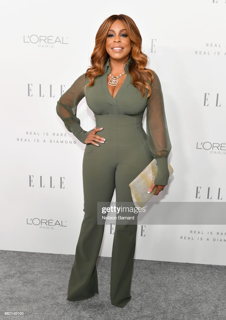 Niecy Nash attends ELLE's 24th Annual Women in Hollywood Celebration presented by L'Oreal Paris, Real Is Rare, Real Is A Diamond and CALVIN KLEIN at Four Seasons Hotel Los Angeles at Beverly Hills on October 16, 2017 in Los Angeles, California.