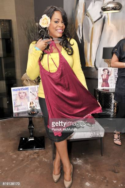 Niecy Nash attends Silver Spoon Presents Oscar Weekend Red Cross Event For Haiti Relief at Interior Illusions on March 3 2010 in West Hollywood...