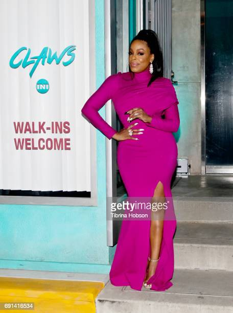 Niecy Nash attends the premiere of TNT's 'Claws' after party at Harmony Gold Theatre on June 1 2017 in Los Angeles California
