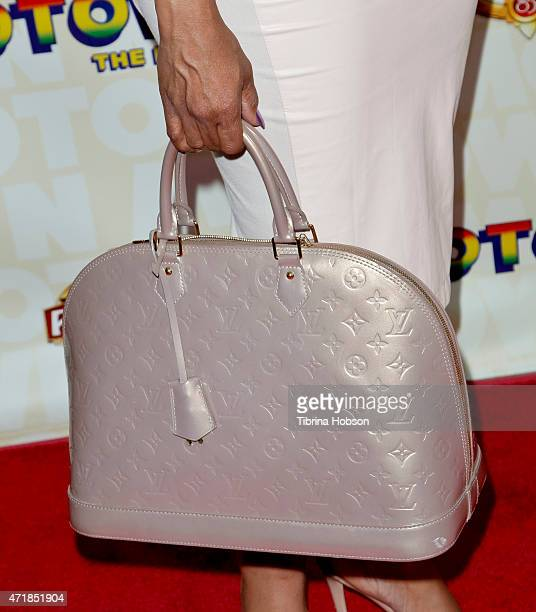 Niecy Nash fashion detail attends 'Motown The Musical' opening night at the Pantages Theatre on April 30 2015 in Hollywood California