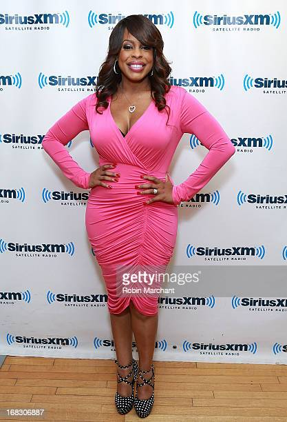 Niecy Nash visits at SiriusXM Studios on May 8 2013 in New York City