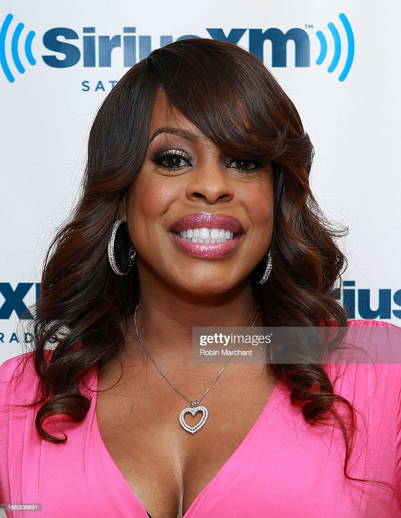 Niecy Nash visits at SiriusXM Studios on May 8, 2013 in New York City.