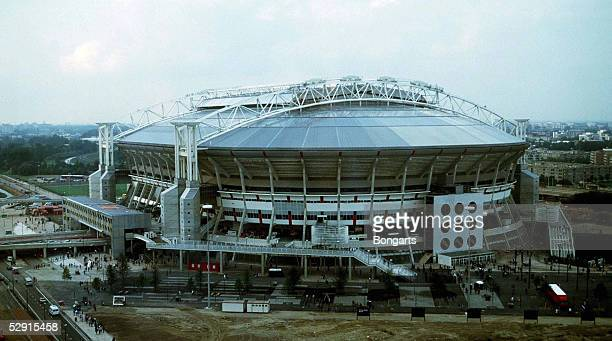 FUSSBALL niederlaendische Liga 96/97 AJAX AMSTERDAM 140896 Eroeffnung der AMSTERDAM ARENA/STADION/FUSSBALLSTADION