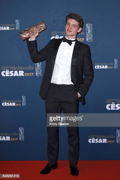 Niels Schneider attends the Cesar Film Awards 2017 at Salle Pleyel on February 24 2017 in Paris France