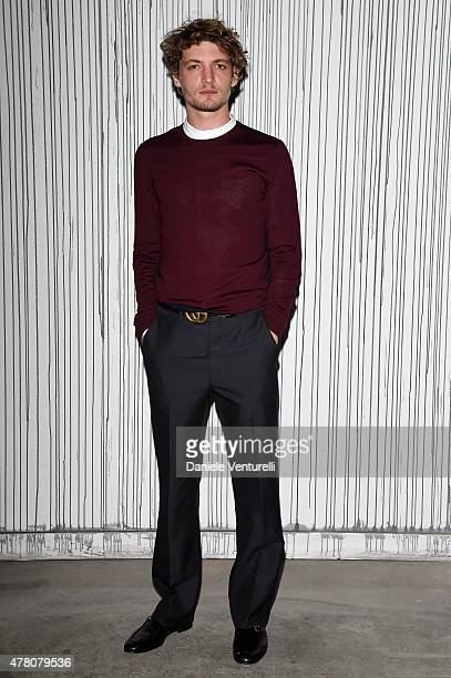 Niels Schneider attends the Gucci fashion show during the Milan Men's Fashion Week Spring/Summer 2016 on June 22 2015 in Milan Italy