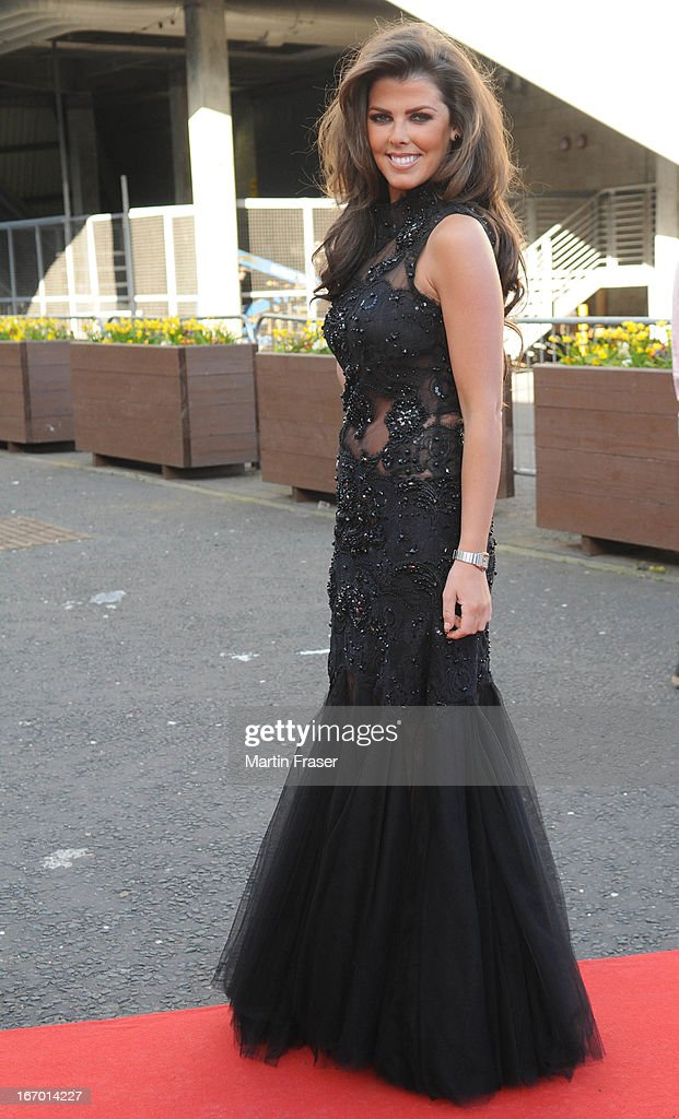 Nieve Jennings attends the Young Scot Awards 2013 at Crowne Plaza on April 19, 2013 in Glasgow, Scotland.