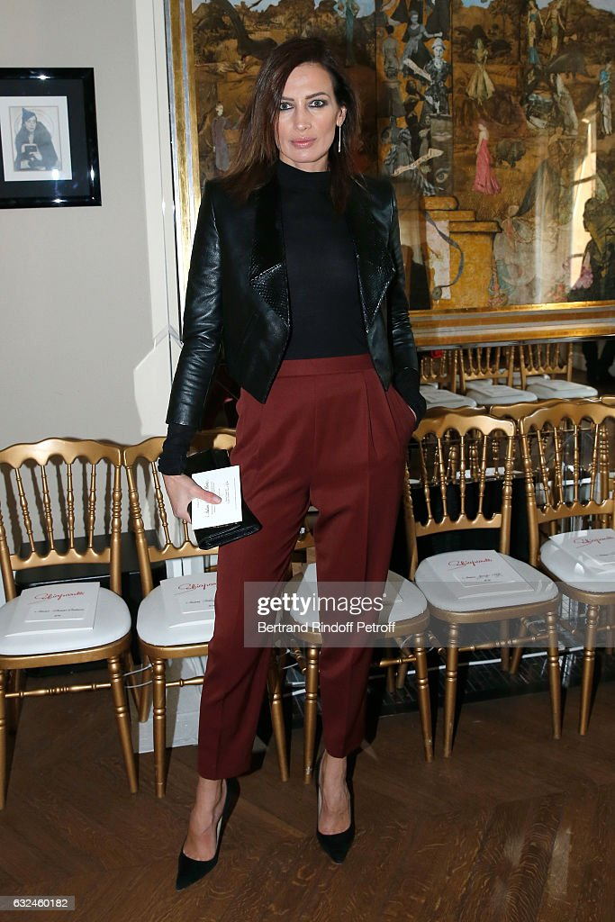 Schiaparelli : Front Row - Paris Fashion Week - Haute Couture Spring Summer 2017