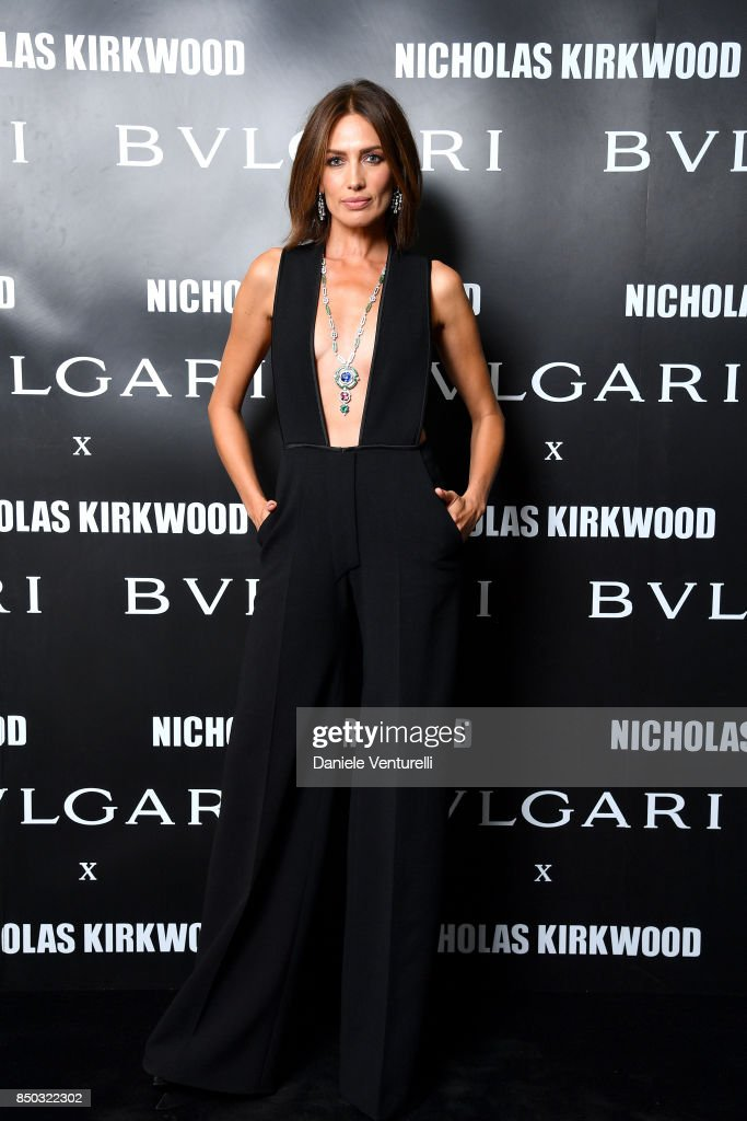 nieves-alvarez-attends-a-party-celebrating-serpenti-forever-by-for-picture-id850322302