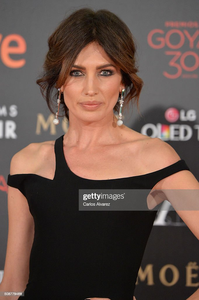 <a gi-track='captionPersonalityLinkClicked' href=/galleries/search?phrase=Goya+Toledo&family=editorial&specificpeople=577710 ng-click='$event.stopPropagation()'>Goya Toledo</a> attends Goya Cinema Awards 2016 at Madrid Marriott Auditorium on February 6, 2016 in Madrid, Spain.
