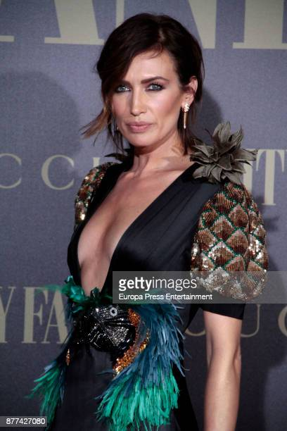 Nieves Alvarez attends the gala 'Vanity Fair Personality of the Year' to Garbine Muguruza at Ritz Hotel on November 21 2017 in Madrid Spain