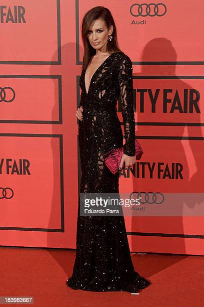 Nieves Alvarez attends Vanity Fair 5th anniversary party photocall at Santa Coloma palace on October 10 2013 in Madrid Spain
