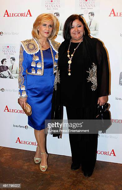 Nieves Herrero and Charo Reina attend the book presentation of 'Como Si No Hubiera un Manana' Book Presentation on October 7 2015 in Madrid Spain