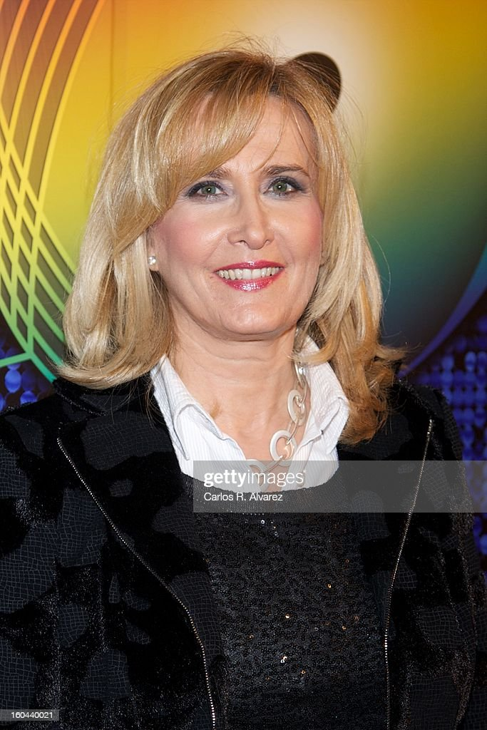 Nieves Herrero attends '40 El Musical' premiere at the Rialto Theater on January 31, 2013 in Madrid, Spain.