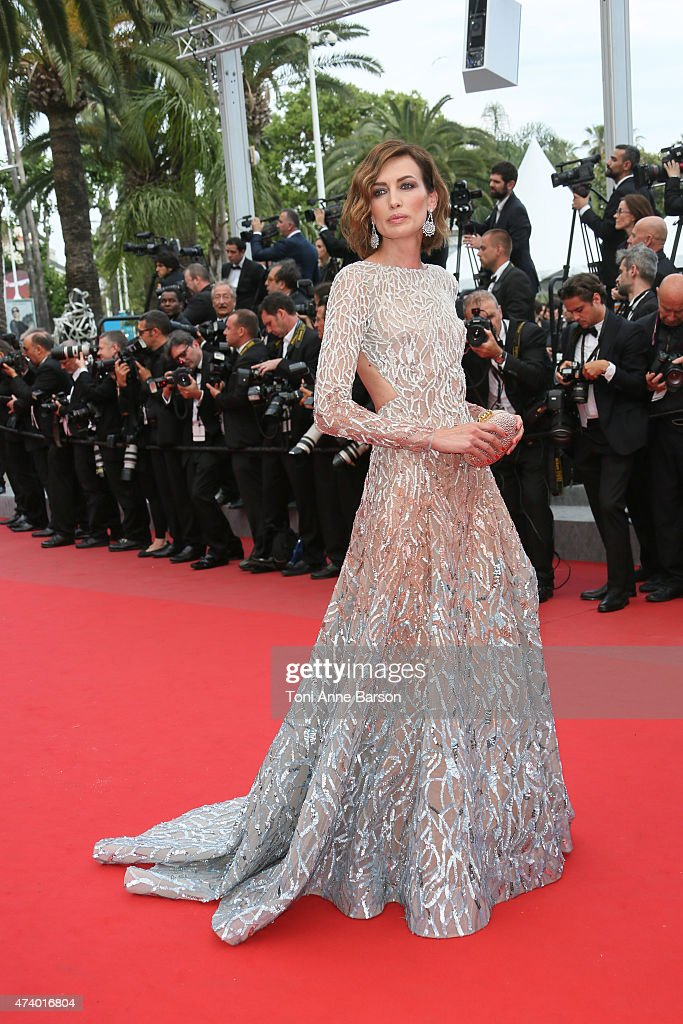 Nievez Alvares attends the 'Sicario' premiere during the 68th annual Cannes Film Festival on May 19, 2015 in Cannes, France.
