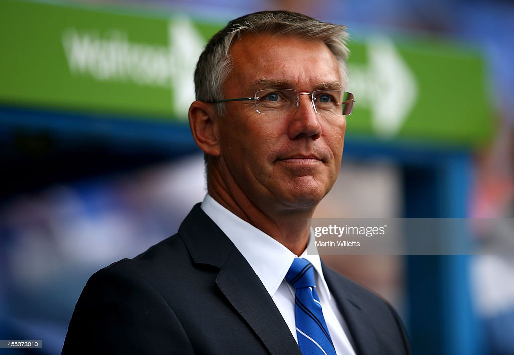 <a gi-track='captionPersonalityLinkClicked' href=/galleries/search?phrase=Nigel+Adkins&family=editorial&specificpeople=4015297 ng-click='$event.stopPropagation()'>Nigel Adkins</a> manager of Reading prior to the Sky Bet Championship match between Reading and Fulham at Madejski Stadium on September 13, 2014 in Reading, England.