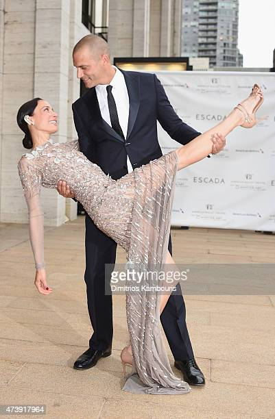 Nigel Barker and Cristen Barker attend the American Ballet Theatre's 75th Anniversary Diamond Jubilee Spring Gala at The Metropolitan Opera House on...