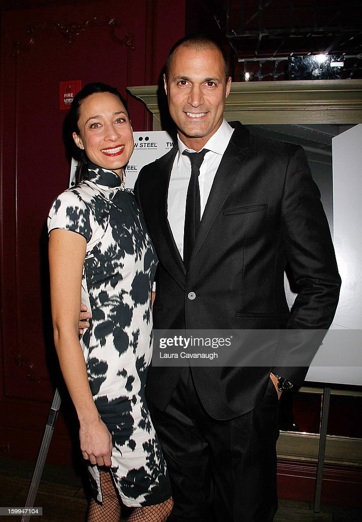 <a gi-track='captionPersonalityLinkClicked' href=/galleries/search?phrase=Nigel+Barker&family=editorial&specificpeople=691819 ng-click='$event.stopPropagation()'>Nigel Barker</a> and Cristen Barker attend the launch party for the DuJour February digital issue at The Darby Restaurant on January 23, 2013 in New York City.