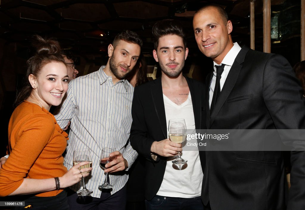 <a gi-track='captionPersonalityLinkClicked' href=/galleries/search?phrase=Nigel+Barker&family=editorial&specificpeople=691819 ng-click='$event.stopPropagation()'>Nigel Barker</a> (right) and guests attend DuJour Magazine Gala With Coco Rocha & <a gi-track='captionPersonalityLinkClicked' href=/galleries/search?phrase=Nigel+Barker&family=editorial&specificpeople=691819 ng-click='$event.stopPropagation()'>Nigel Barker</a> Presented by Invicta at Scott Sartiano and Richie Akiva's The Darbyon January 23, 2013 in New York City.