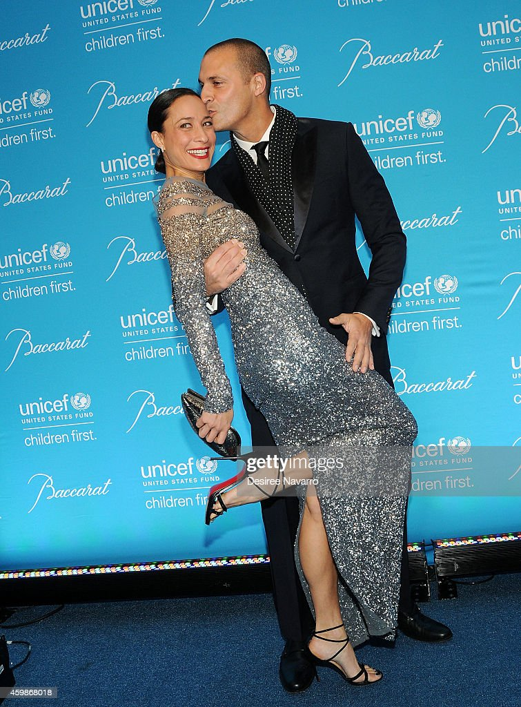 Nigel Barker and wife Cristen Barker attend the 10th Annual Unicef Snowflake Ball at Cipriani Wall Street on December 2, 2014 in New York City.