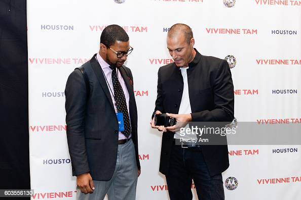 Nigel Barker at the Vivienne Tam SS2017 Runway Show at The Arc Skylight at Moynihan Station on September 12 2016 in New York City