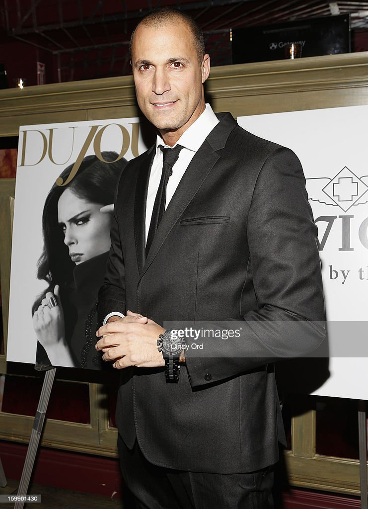 <a gi-track='captionPersonalityLinkClicked' href=/galleries/search?phrase=Nigel+Barker&family=editorial&specificpeople=691819 ng-click='$event.stopPropagation()'>Nigel Barker</a> attends DuJour Magazine Gala With Coco Rocha & <a gi-track='captionPersonalityLinkClicked' href=/galleries/search?phrase=Nigel+Barker&family=editorial&specificpeople=691819 ng-click='$event.stopPropagation()'>Nigel Barker</a> Presented by Invicta at Scott Sartiano and Richie Akiva's The Darbyon January 23, 2013 in New York City.